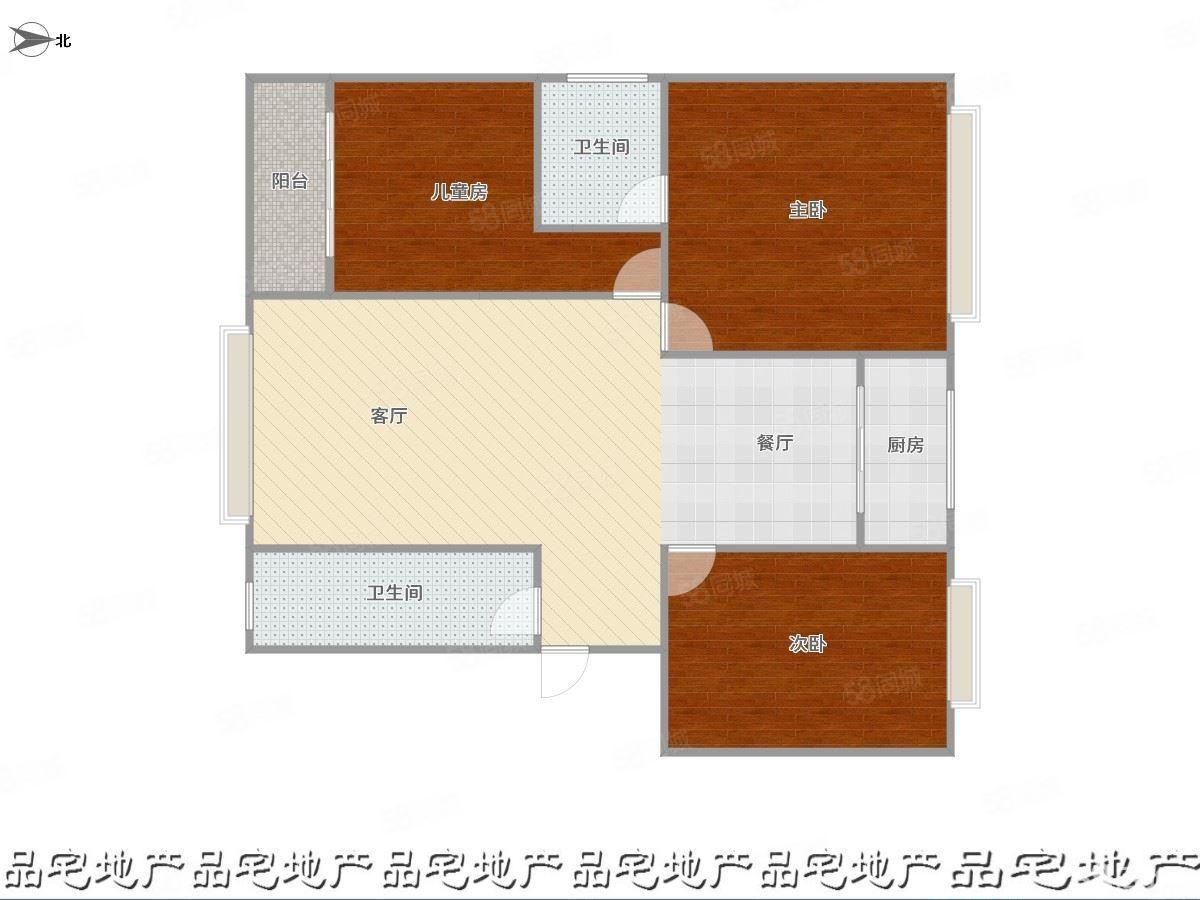 欣星小区三房出租,租金1000元,随时可以看房