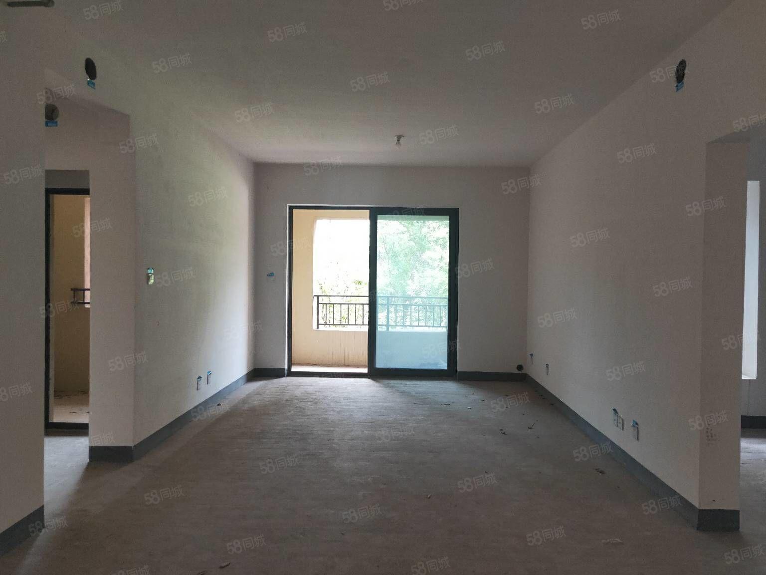 鳳凰郡高品質小區3房可改4房戶型方正全明空間帶8平露臺