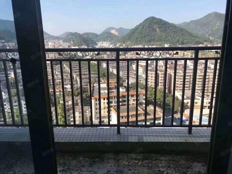 东方花园毛坯113方3房户型靓风景美可按揭首付4成