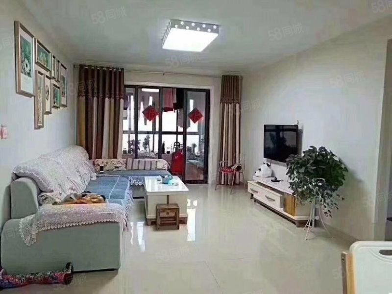 淠河畔河景房海亮官邸金装4室实用面积130平诚心急售