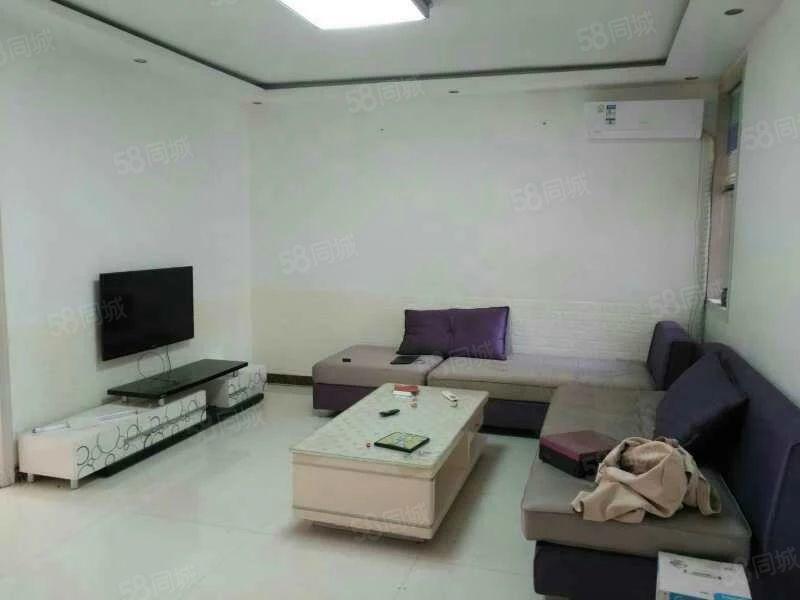 出租九星花园5楼100平,3室2厅中装,家具家电齐全