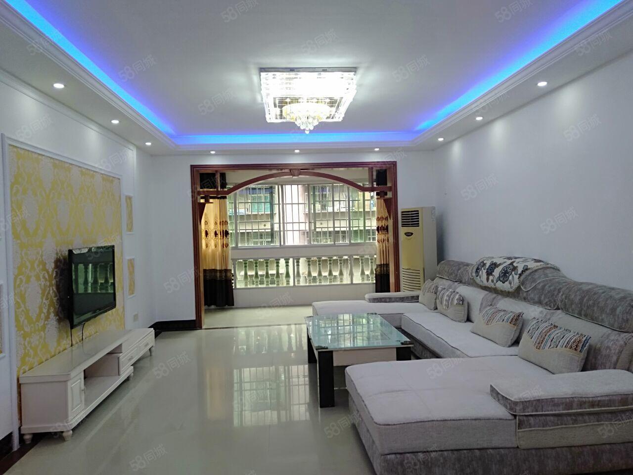 玉泉街小区房2楼3室2厅2卫134平米精装修家具电器齐全
