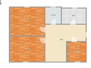 永兴福华园南北通透三居室可分期可贷款,性价比高失不再来