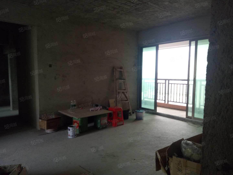 華夏陽光黃金樓層134方4房看花園小區管理