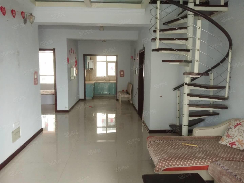 侯馬一中旁北美棕櫚泉98平米南北兩居室送閣樓