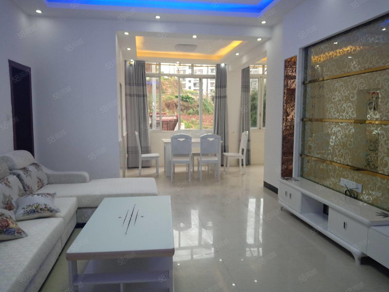 蓬溪玉泉街3楼全新装修3室,急售,外送一个储藏室,一个大阳台