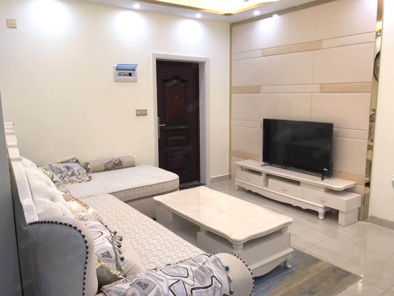 北门滨河公寓有小区物管精致小三室精装修拎包入住产权满二急售