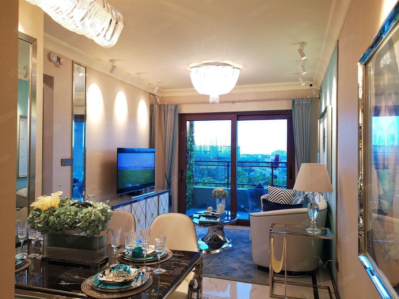 新推项目国家海岸碧桂园海棠盛世豪华装修4室拎包入住