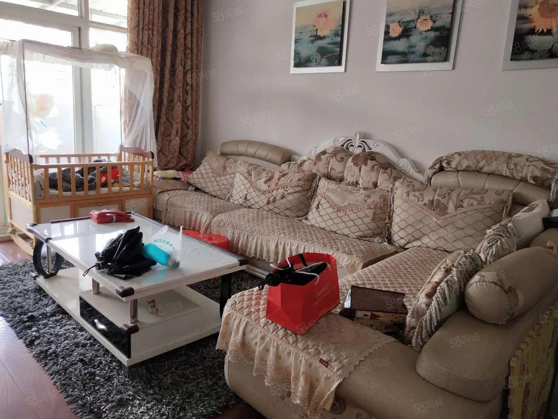锦湖豪苑温馨精装3室2厅1卫户型超好南北通透拎包入住