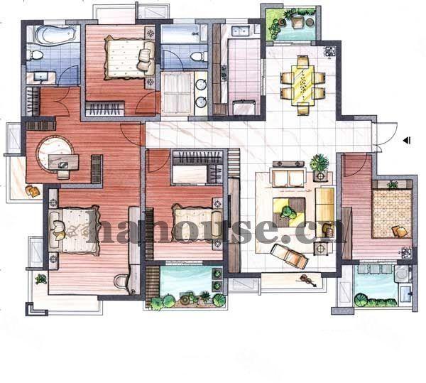 水韵郦城亿力未来城一期大平层超正户型好楼层超低单价