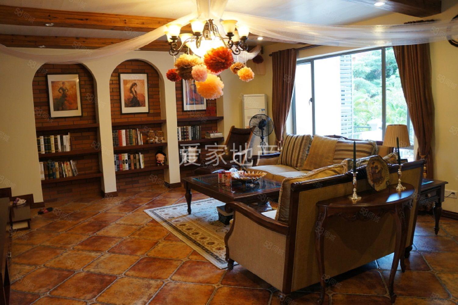 中惠沁林山庄263平方豪装装修复式3房带60平方花园