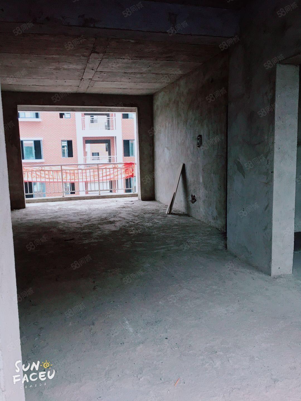 皇榜花城毛坯26.8平米2室2厅1卫送超大阳台