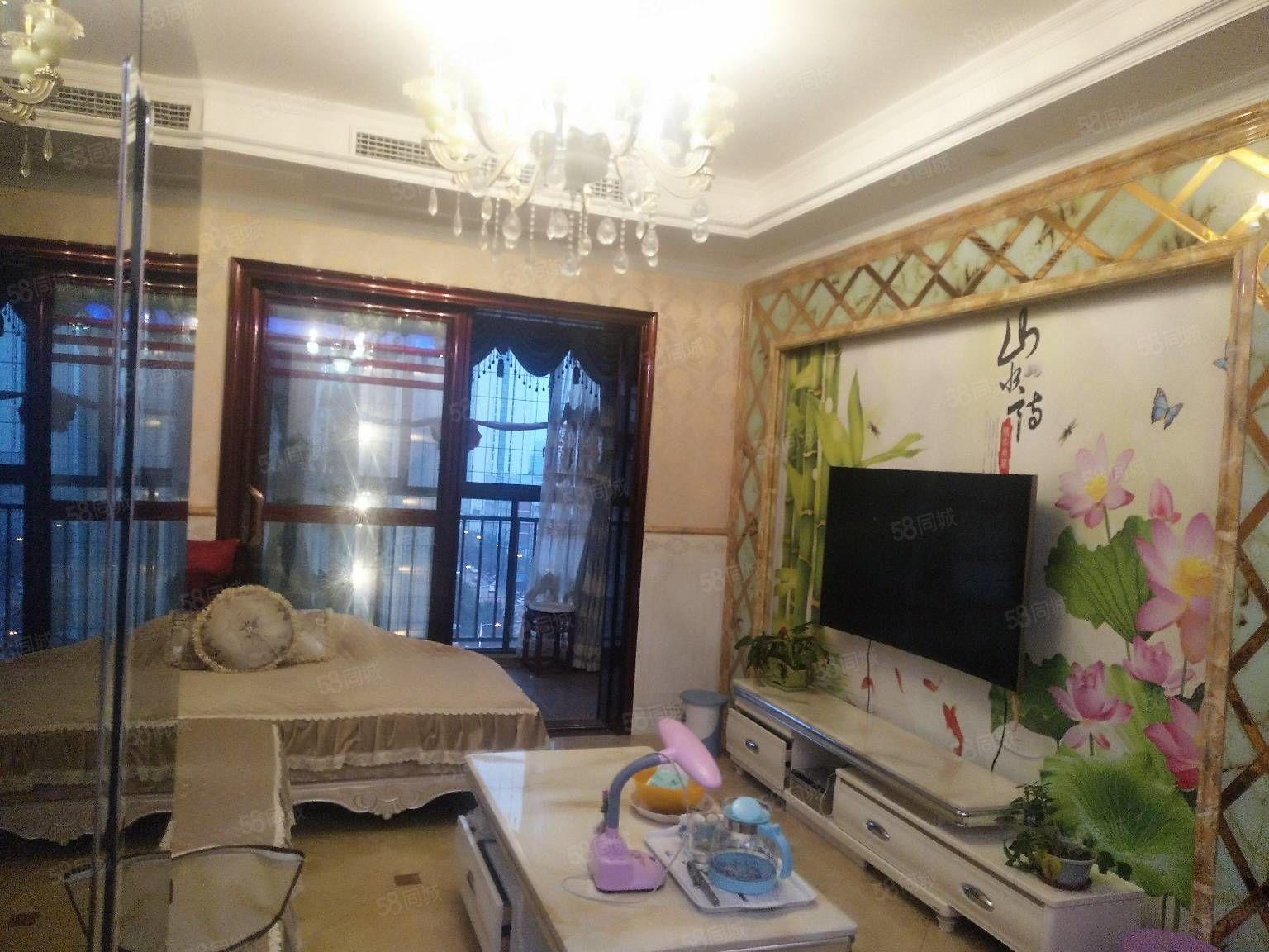 萬達附近,真實圖片,豪華兩房出租,尚品國際小區,小高層