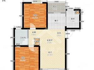 嘉誉东城国际2室80万南北观景阳台好房子,好位置好楼层