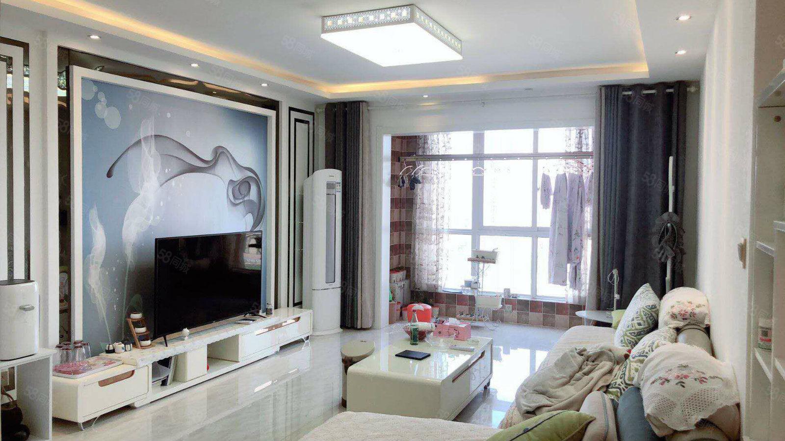 市中心陕工职院旁锦丽花语新房新装修婚房单价7300白菜价