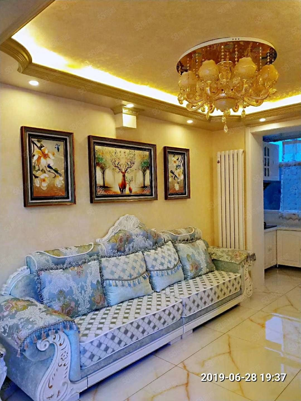 阳光花园正4楼76米两室一厅南北通透,大明厅,豪华装修