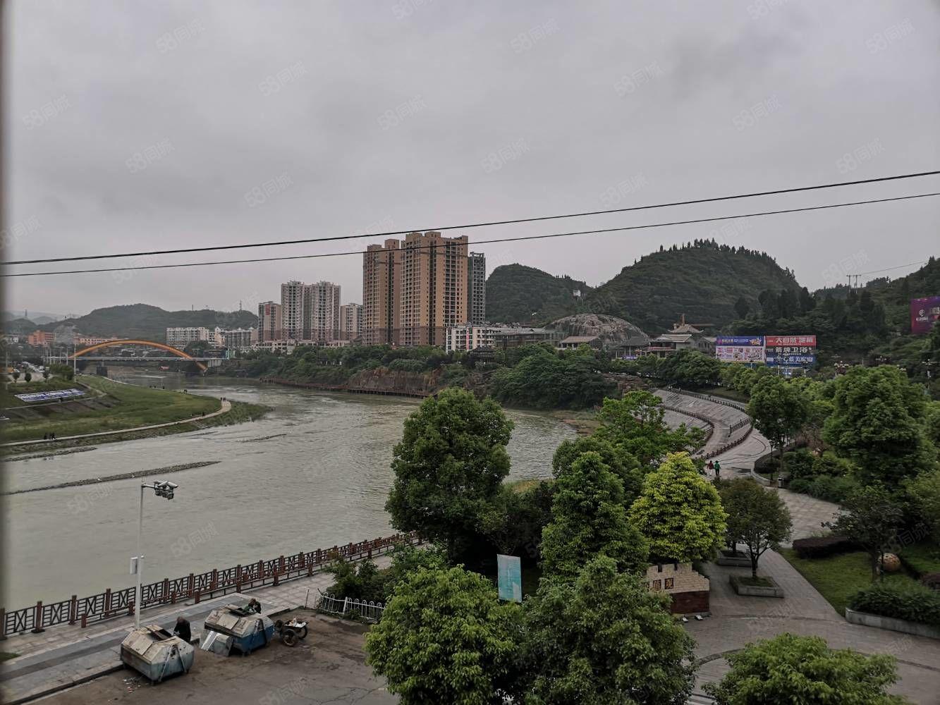 江城推荐松桃星月湾精装修一线江景房出售