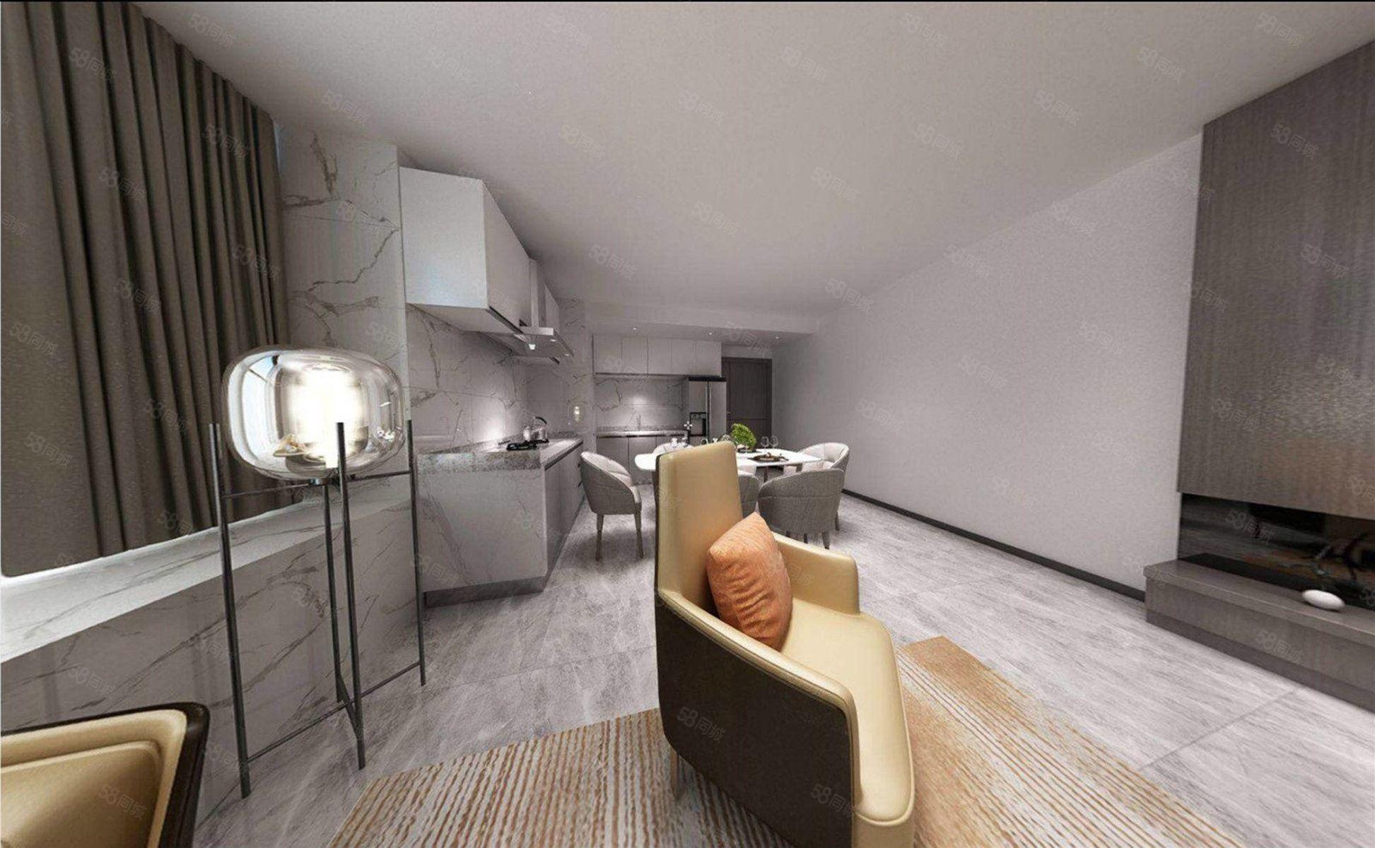 三亞市中心月川中路73平復式大四房戶型通透現房