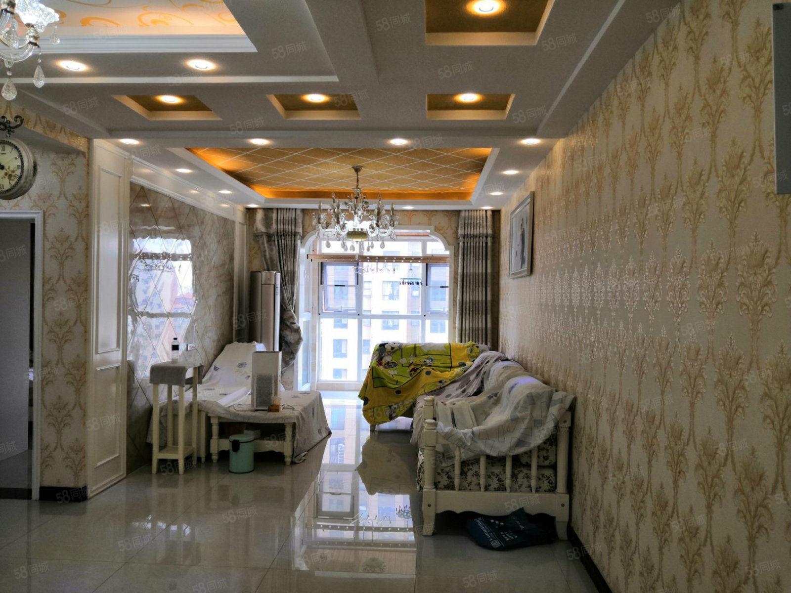 建业壹号城邦豪装2室中间楼层有证可贷款无个税