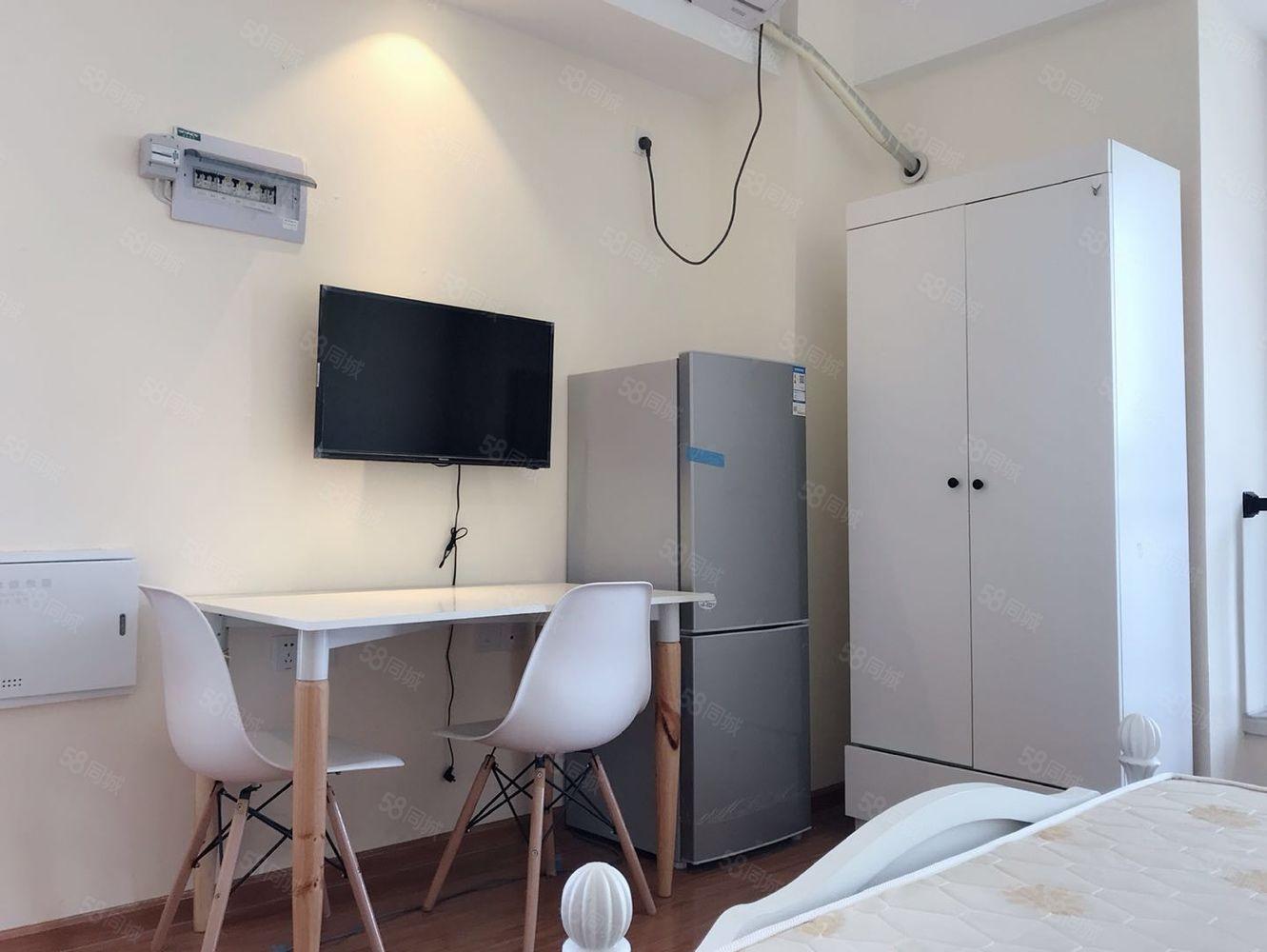 萬達廣場公寓精裝修一室單身公寓家具家電齊全