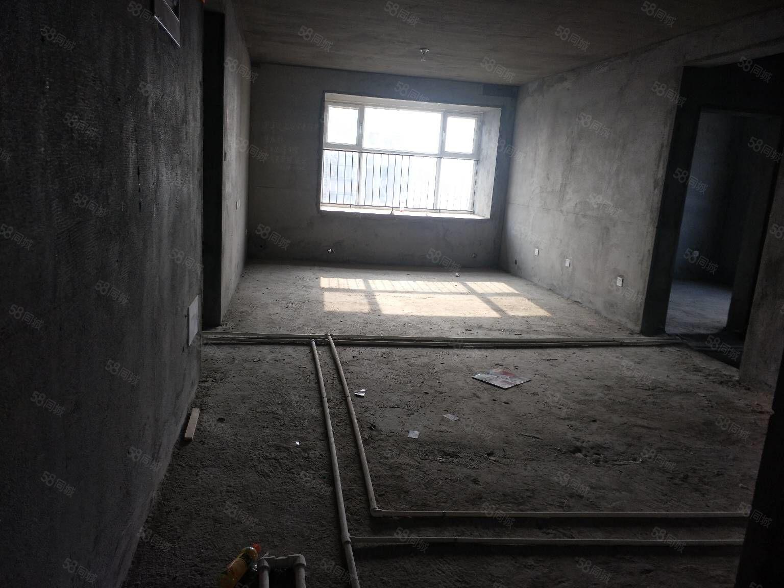 海斯顿30楼毛坯现房两室客厅朝阳带地下室走新房手续支持按揭
