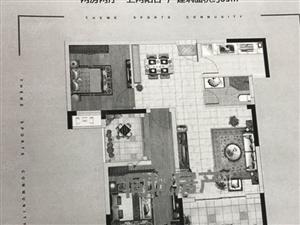 翼特.丽景城87小三房,仅售9500满二年高层性价比