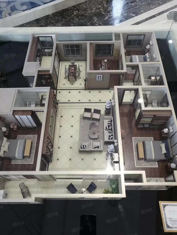 稀缺好房源銀河君庭179平4室2廳3衛,超陽兩個主臥室