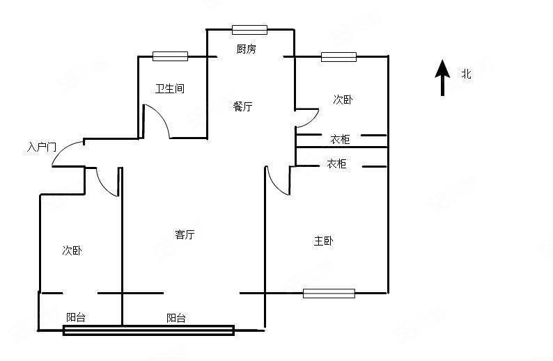 二实小旁鑫琦府邸低价出售简装大三室拎包入住买就赚