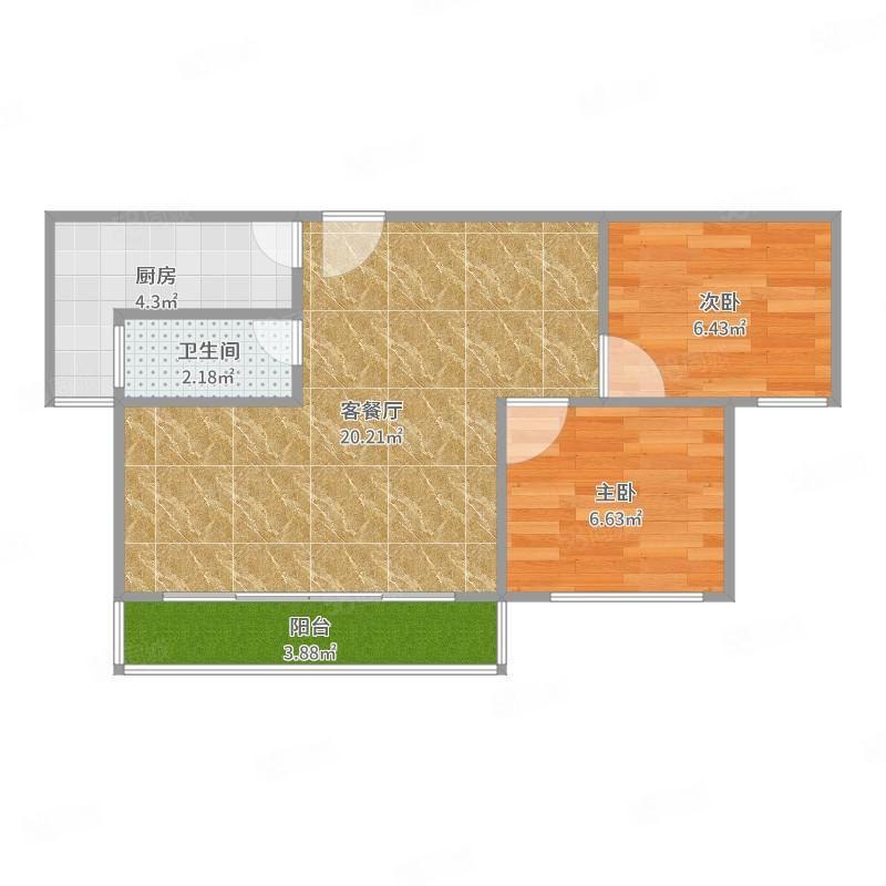 天鹅湖二手房中装五楼两室两厅39.5万急售德国小镇会展中心