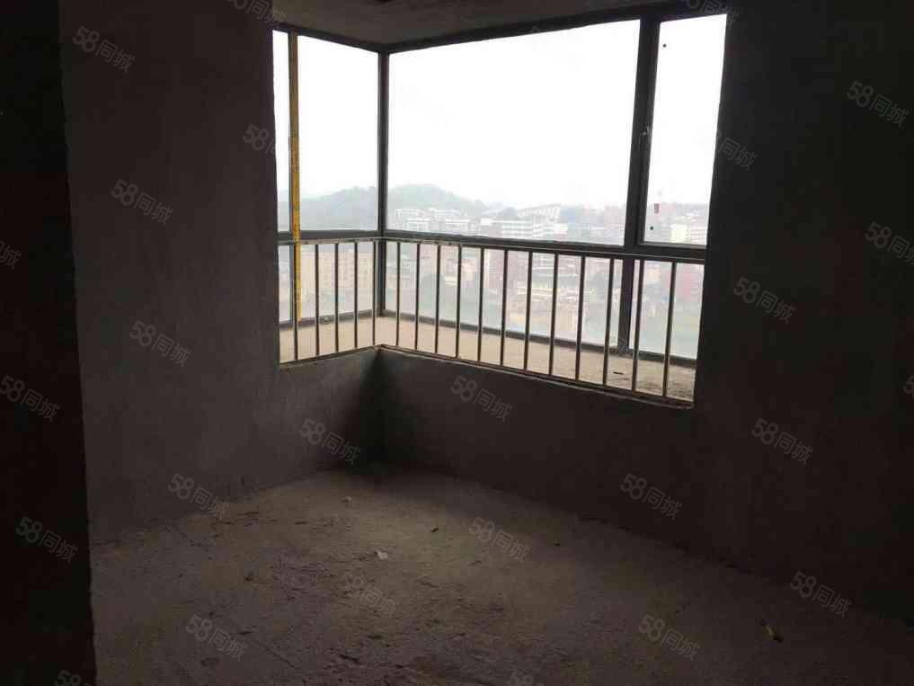 中央半岛电梯房南北通透双阳台大飘窗临河景观房