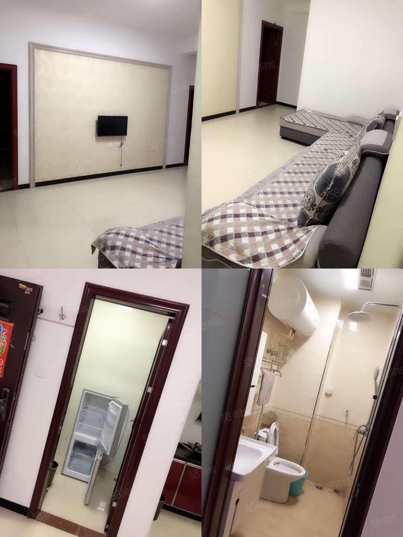 出租,九小附近瑞豪时代2室1厅精装修干净卫生拎包入住