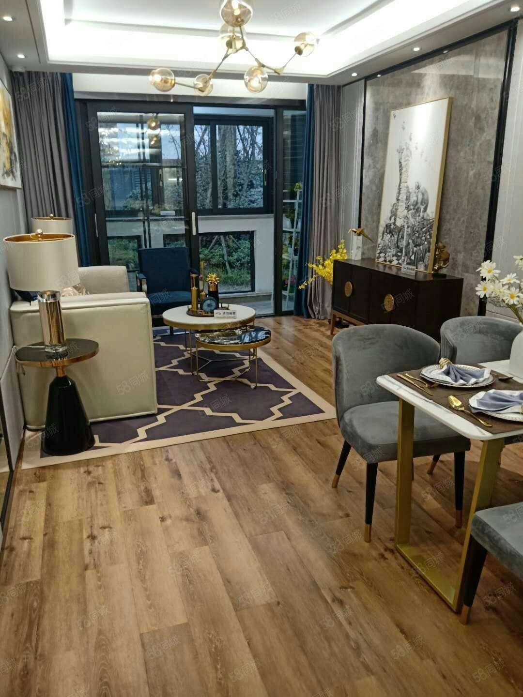 西区高铁站新房首付16万买三室双卫电梯江景房