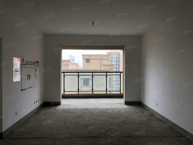 工区路香榭华庭毛坯大三居楼王位置通透户型证齐可按揭