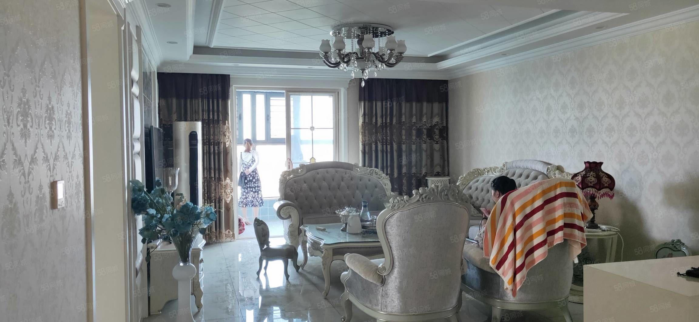 昌建东外滩,一线河景房,精装4居室,拎包入住,免个税