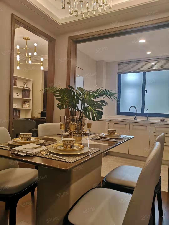 白泉高铁新城精装3房高得房率户型好附赠面积多