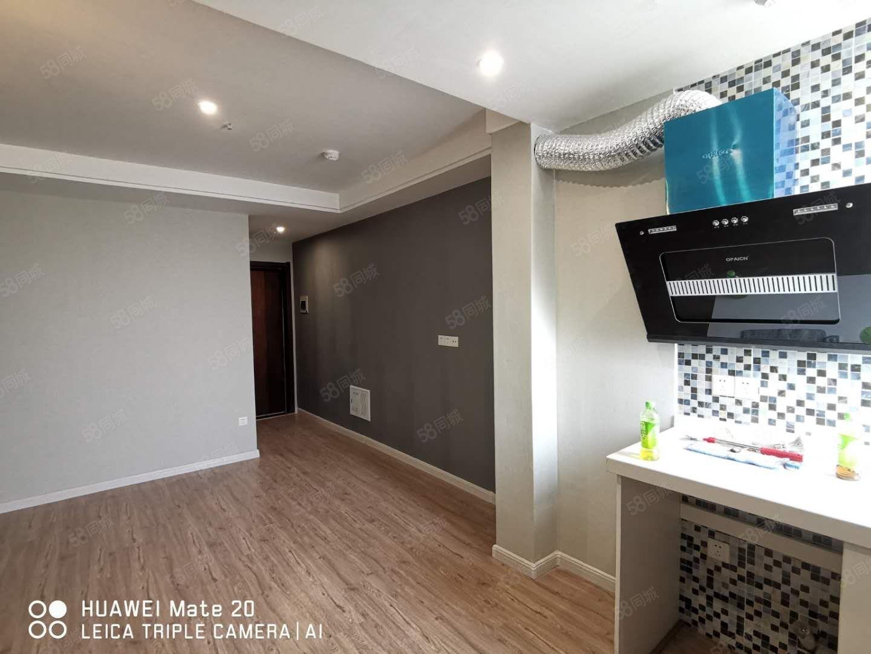 正大国贸精装一室一厅家具家电随配齐首租有钥匙随时看房