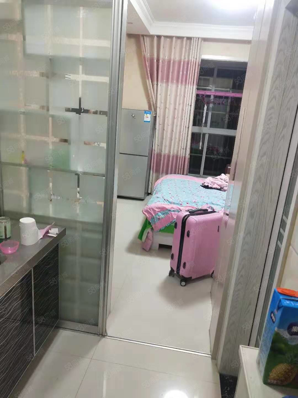 海燕鑫聚精装修一居室家具家电齐全可拎包入住随时看房