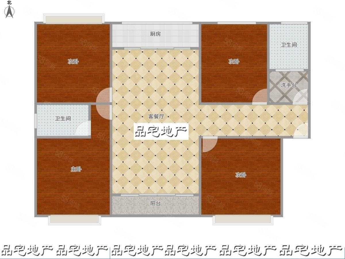 文翠路盛景苑147平,四房,租金916一月,有钥匙
