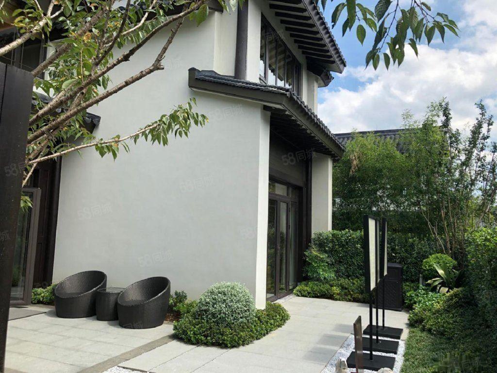 220平大花园丨133平两层3房中式精装河源丨融创莫干溪谷