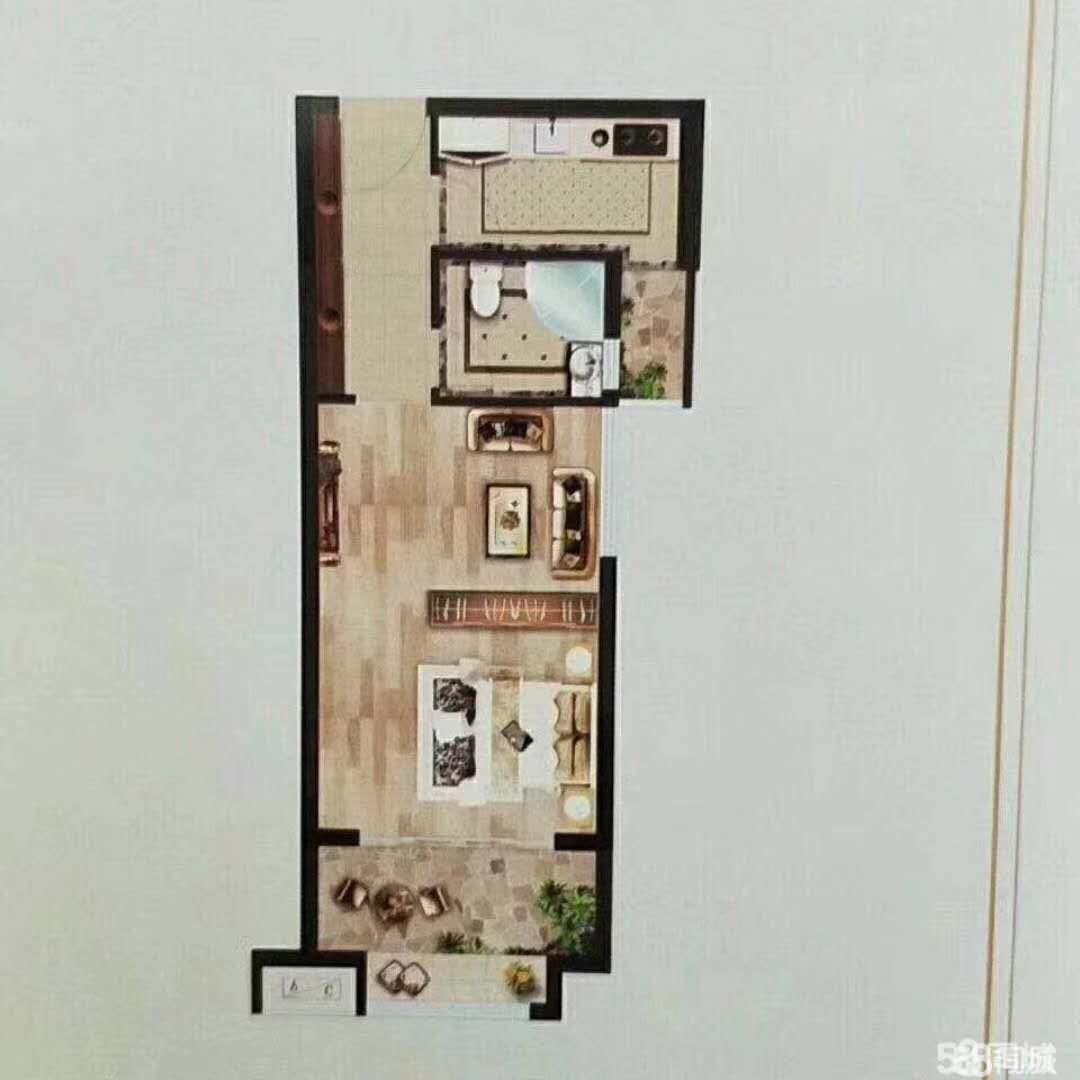 馨園雅居小高層70年產權一室一廳售價43