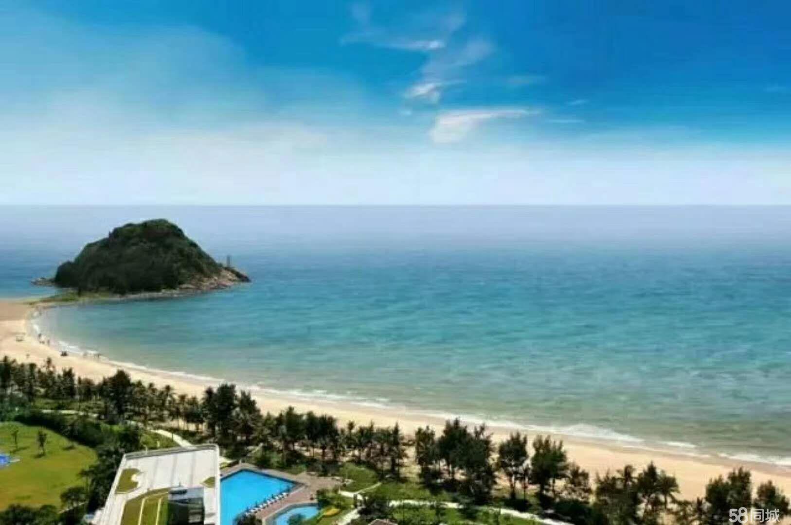 (不限购带精装)旅游海岛一线海景现楼,可托管租金可以抵月供