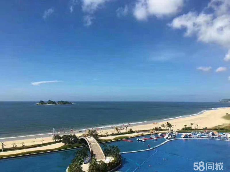 精裝海景房方正的戶型直觀大海的方向,悠然度假時光