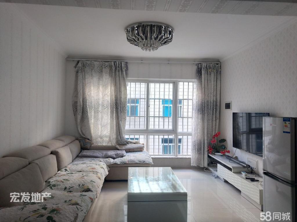 富然三期3室2厅2卫精装修框架结构3楼带家具家电婚房选择