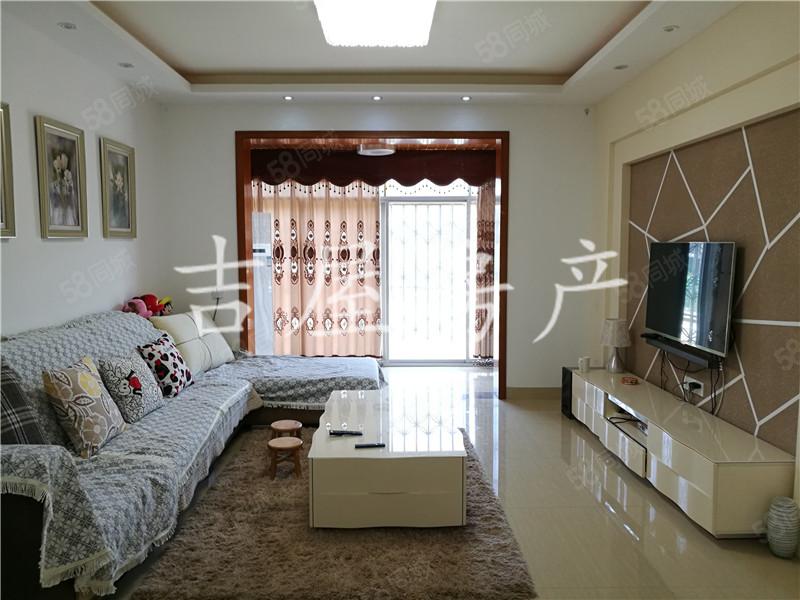 龙腾御景精装3室2卧室1书房家电齐全4个空调双阳台