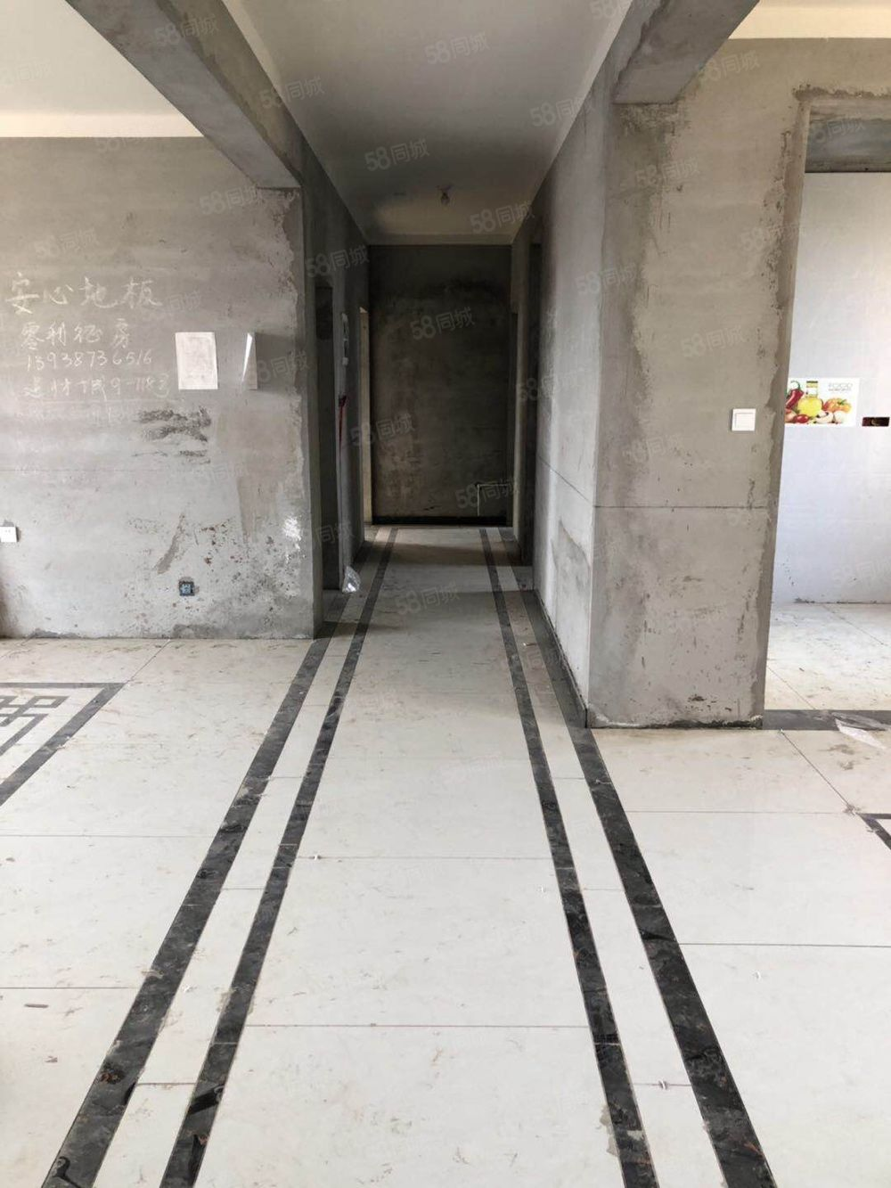 欧五四室两厅三卫186平水电已改阳台已封125万可按揭可全款