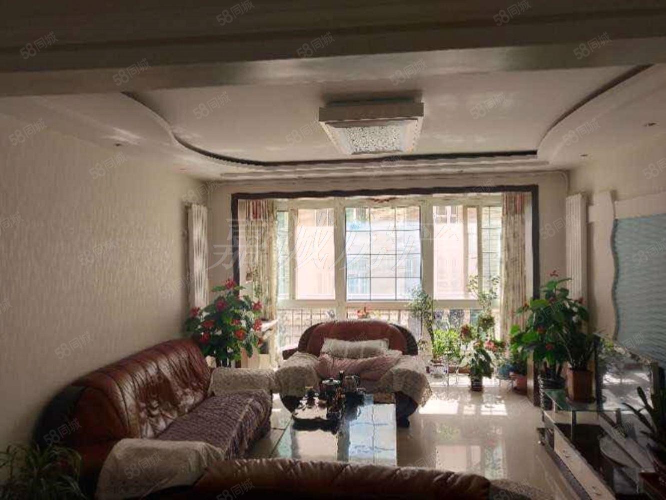 桥南龙园中学学位房中间楼层锦绣园AB座精装三室可按揭