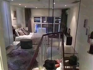 滁州高铁站轻轨首站LOFT复式公寓送一层
