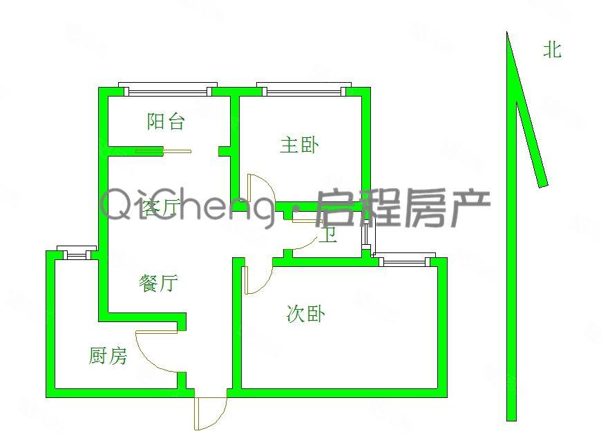 城東匯錦城毛坯高層2居8132萬白菜價甩賣