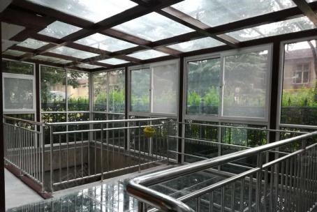 玉泉路万达广场附近上下两层带花园罕见房源
