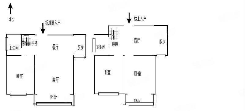 奥体花园准现房复式房可以贷款全明户型3室3厅2卫